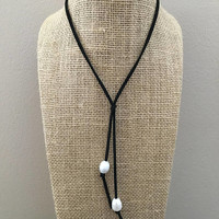 Freshwater Rice Pearl Trendy Choker Necklace