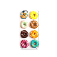 Colourful Doughnuts Pattern iPhone 6 case, iPhone 6 Plus, iPhone 4, iPhone 5 5s, iPhone 5c, Nexus 5 case, LG G3 case, Galaxy S5 & S6 case