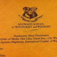 Personalized Harry Potter Acceptance Letter  by Munchkinzmomma