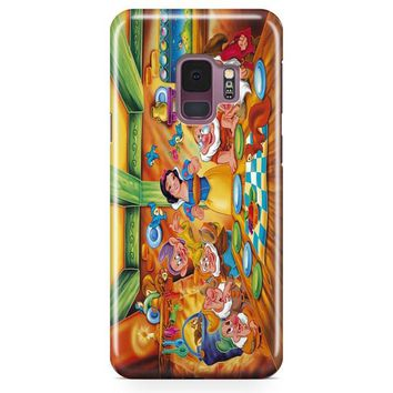 Snow Ariel And Alice Punk Tattoos Disney Princess Samsung Galaxy S9 Case | Casefantasy