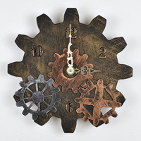 Steampunk Wall Clock - Free Shipping in USA