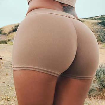 Sexy Women Gym Compression Booty Shorts Spandex Ladies Volleyball Running lycra Athletic