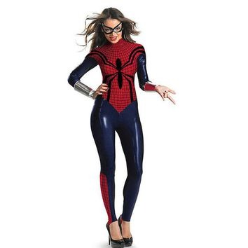 DCCK0OQ On Sale Hot Deal Halloween Costume Spider Superman Cosplay Custome [8978980359]