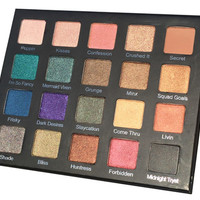 Drenched Metal Shadow Palette