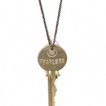 Fearless Key Necklace by The Giving Keys - ShopKitson.com