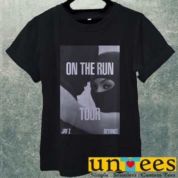 Low Price Men's Adult T-Shirt - Beyonce and Jay Z On The Run Tour design