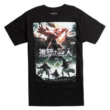 Attack On Titan Colossal Titan Eren Jaeger T-Shirt