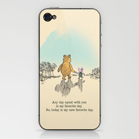 I love being with you iPhone & iPod Skin by Budi Satria Kwan