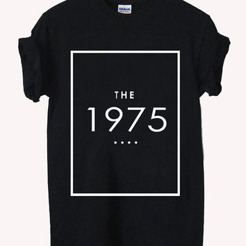 the 1975 classic logo music Screenprint 100% soft cotton t-shirt For girl and men Unisex