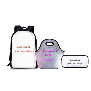 Boys Backpack Bag FORUDESIGNS School Bags Set for Girls Happy Doctor Orthopedic  Schoolbag Kids Primary School s Satchel AT_61_4