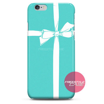 Tiffany and Co Gift Bow iPhone Case 3, 4, 5, 6 Cover