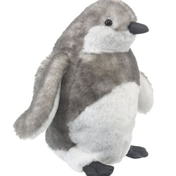 10 Inch Baby Black-footed Penguin Chick Stuffed Animal Floppy Zoo Newborn Animal