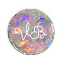 Personalised Holographic Diamond 3D sticker
