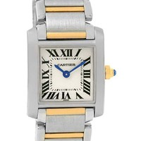 Cartier Tank Francaise Quartz Female Watch W51007Q4 (Certified Pre-Owned)