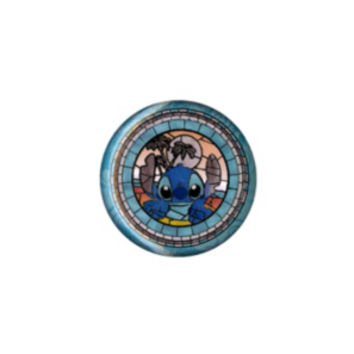 Disney Lilo & Stitch Stained Glass Pin