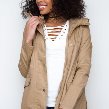 Mercer Jacket in Khaki