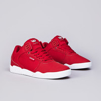 Flatspot - Supra Ellington Red / White - White