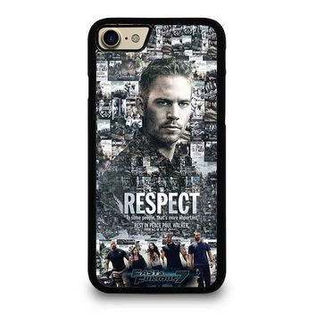 FAST FURIOUS 7 PAUL WALKER iPhone 7 Case Cover