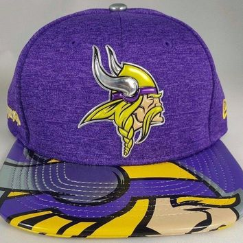 Minnesota Vikings NFL 17 Draft New Era 9Fifty Snapback Hat Cap