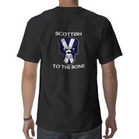 Scottish to the Bone Tshirts from Zazzle.com