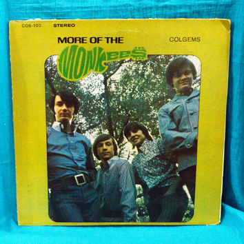 Vintage 60s More Of The MONKEES Colgems Stereo Vinyl Record LP