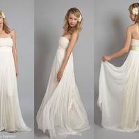 grecian wedding dress guru : wedding dress gallery