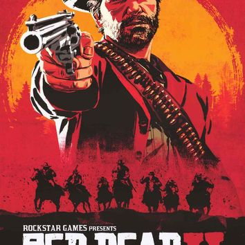 Red Dead Redemption II Video Game Poster 24x36