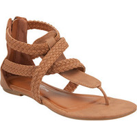 DE BLOSSOM Chess Braided Womens Sandals | Tillys.com