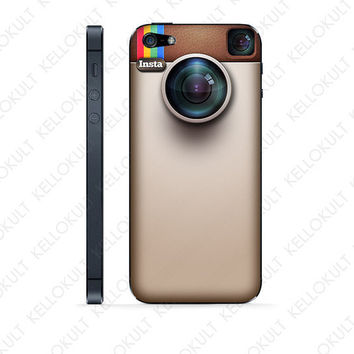 iPhone 5 Instagram Camera Skin by kellokult on Etsy