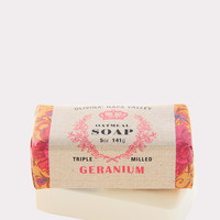 Oatmeal Bar Soap in Geranium
