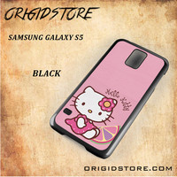 Hello Kitty Pink Lemon For Samsung Galaxy S5 - Gift Present Multiple Choice