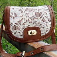Retro women lace bag small shoulder bag [138]