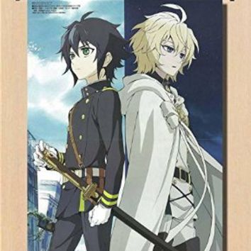 Home Decor Anime Seraph of the End/Owari no Seraph The night's micah scroll poster 23.6x31.5 Inches-005L