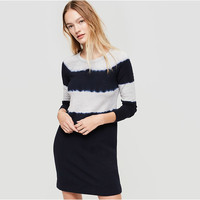 Lou & Grey Tie Dye Signaturesoft Sweatshirt Dress | Lou & Grey