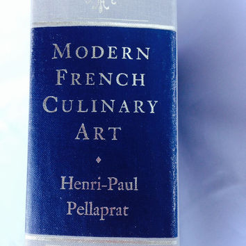 Modern French Culinary Art Cookbook Vintage 1966  SALE