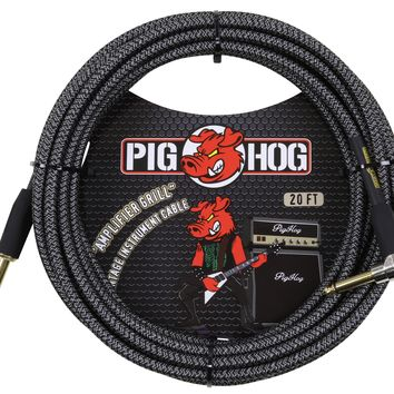 "Pig Hog ""Amp Grill"" Right Angle Instrument Cable"