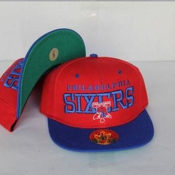 DCCKUN7 Philadelphia 76ers Nba Cap Snapback Hat - Ready Stock
