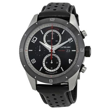 Montblanc TimeWalker Black Dial Mens Chronograph Watch 116098