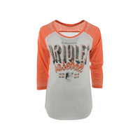 Baltimore Orioles MLB Women's Burnout Raglan T-Shirt