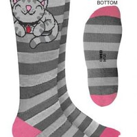 The Big Bang Theory Soft Kitty Adult Gray Socks - The Big Bang Theory - | TV Store Online