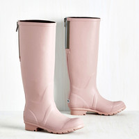 Not a Moment Too Monsoon Rain Boot | Mod Retro Vintage Boots | ModCloth.com
