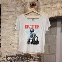 Led Zeppelin Band Women's Sized Stylish Shirt Rock & Roll