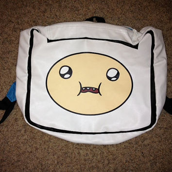 Adventure Time Backpack by kaitlinannmarie on Etsy