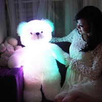 Luminous Pillow Teddy - $30