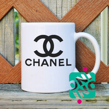 CoCo Chanel Coffee Mug, Ceramic Mug, Unique Coffee Mug Gift Coffee