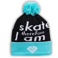 Diamond Supply Co. I Am Fold Beanie Diamond Blue / Black
