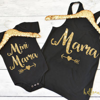 Mommy and Me Outfit, Mommy and Daughter Shirts, Womens Tank Top, Mom Shirt, Mommy and Me Photos, Mini Mama Shirt