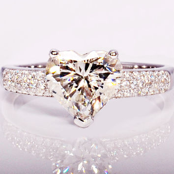 YaYI Fashion Women's Jewelry Ring CZ Diamond White Platinum Plated Engagement Rings wedding Rings Party Rings gift