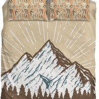 Rock Climbing Bedding Set