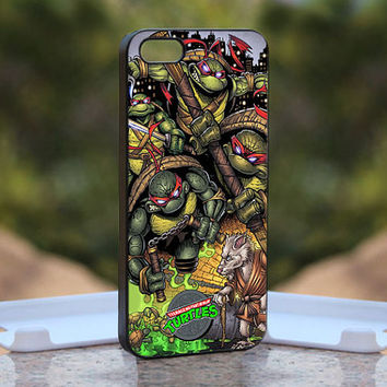 Teenage Mutant Ninja Turtles MQL0196 - Design available for iPhone 4 / 4S and iPhone 5 Case - black, white and clear cases